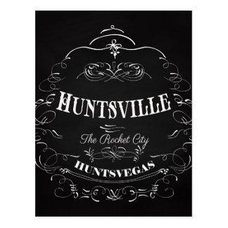 Huntsville Alabama - The Rocket City Postcard
