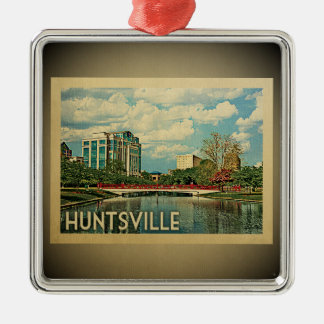 Huntsville Alabama Vintage Travel Ornament