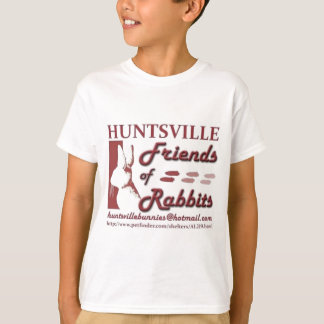 Huntsville Friends of Rabbits T-Shirt