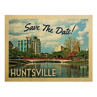 Huntsville Save The Date Alabama Postcard