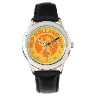Hup Holland T-Shirt - The Dutch Soccer Song! Wristwatches