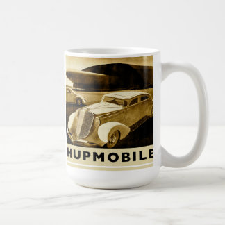 Hupmobile Basic White Mug