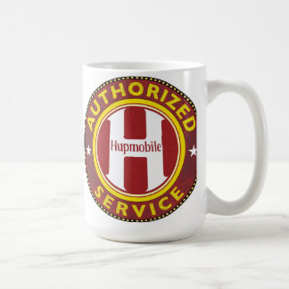 Hupmobile service sign basic white mug