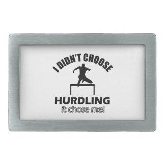 hurdle designs belt buckles
