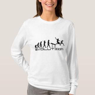 Hurdles Hurdler Sport Evolution Art T-Shirt