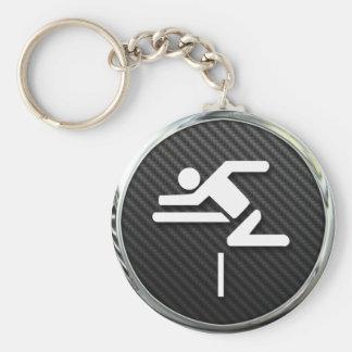 Hurdles Icon Key Ring