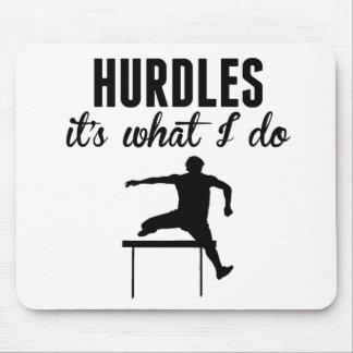 Hurdles It's What I Do Mousepads