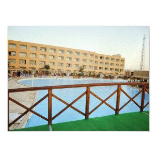 Hurghada hotel resort custom announcement