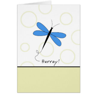 Hurray - Last Round of Chemo Greeting Card