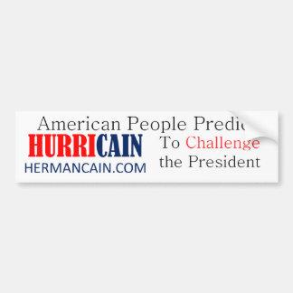 hurricain Challenge BS Bumper Sticker