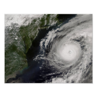 Hurricane Alex Poster