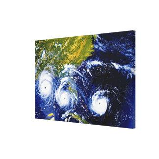 Hurricane Andrew Canvas Print