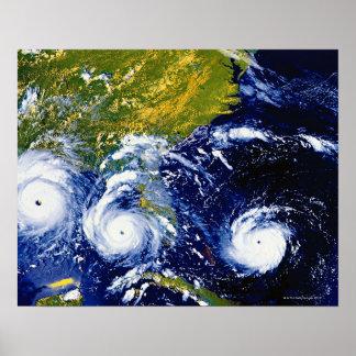 Hurricane Andrew Poster