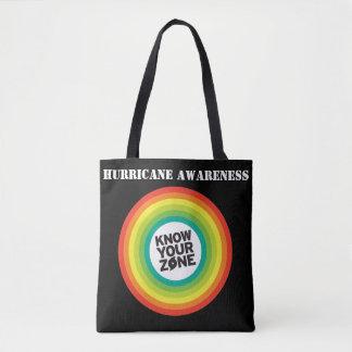 Hurricane Awareness Tote Bag