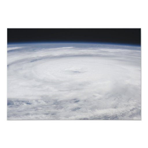 Hurricane Bill in the Atlantic Ocean Photograph