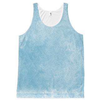 Hurricane Blue All-Over Print Tank Top