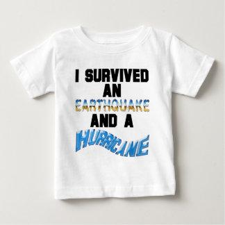 Hurricane Earthquake Baby T-Shirt