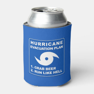 Hurricane Evacuation Plan Can Cooler