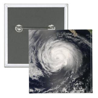 Hurricane Fausto 15 Cm Square Badge