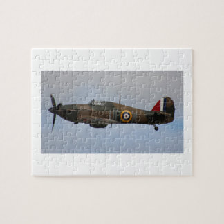 Hurricane Fighter aircraft WWII military plane Puzzle