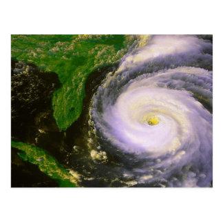 Hurricane Fran, September 1996 Postcard