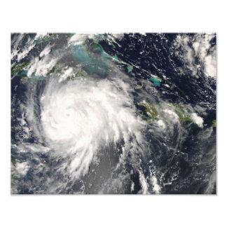 Hurricane Gustav over Jamaica Photo Print