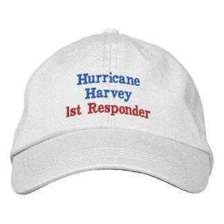 Hurricane Harvey 1st Responder Embroidered Hat