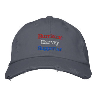Hurricane Harvey Supporter Embroidered Hat