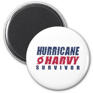 Hurricane Harvey Survivor Magnet