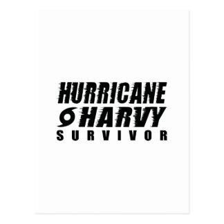 Hurricane Harvey Survivor Postcard