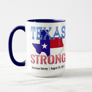 Hurricane Harvey Texas Strong Mug