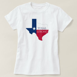 Hurricane Harvey Texas Strong State Flag T Shirt
