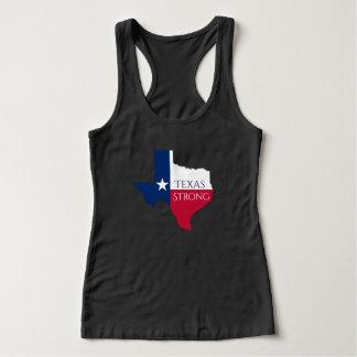 Hurricane Harvey Texas Strong State Flag Tank Top