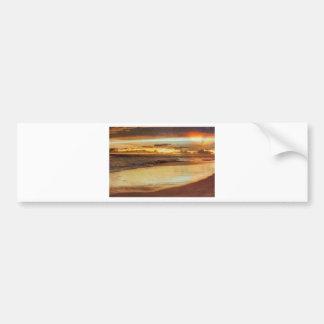 Hurricane Hermine Sunset Bumper Sticker