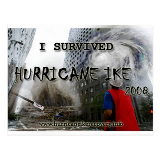 hurricane_ike_collage_shirt_front postcard