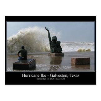 Hurricane Ike Postcard