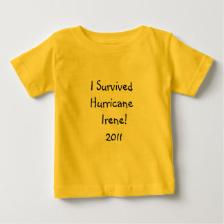 Hurricane Irene 2011 Baby T-Shirt