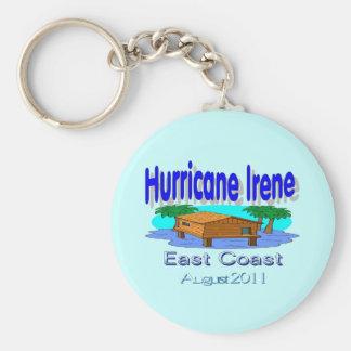 Hurricane Irene East Coast Collection Basic Round Button Key Ring