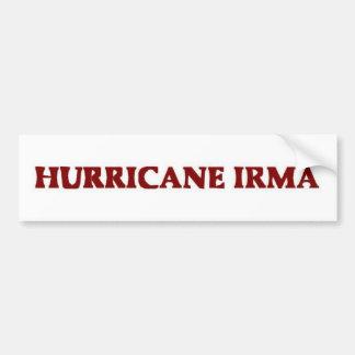 Hurricane Irma Bumpersticker Bumper Sticker