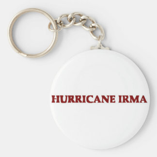 Hurricane Irma Keychain