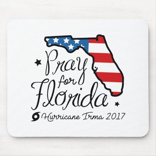 Hurricane Irma Mouse Pad