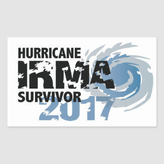 Hurricane Irma Survivor Florida Bumper Sticker