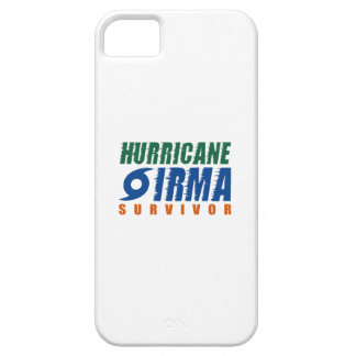 Hurricane Irma Survivor iPhone 5 Covers