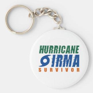 Hurricane Irma Survivor Key Ring
