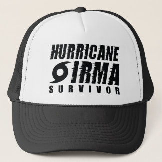 Hurricane Irma Survivor Trucker Hat