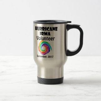 Hurricane Irma Volunteer 2017 Artwork Travel Mug