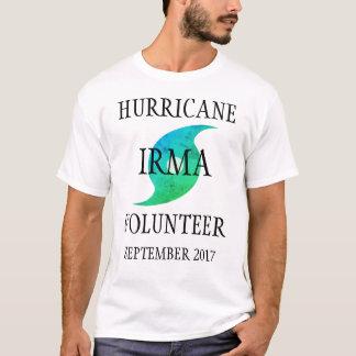 Hurricane Irma Volunteer Florida Disaster T-Shirt