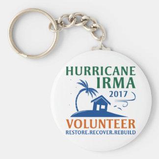 Hurricane Irma Volunteer Key Ring