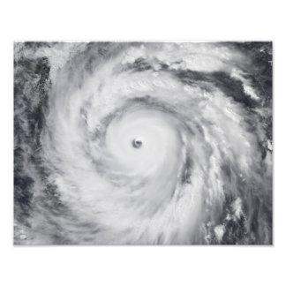Hurricane Jangmi Art Photo