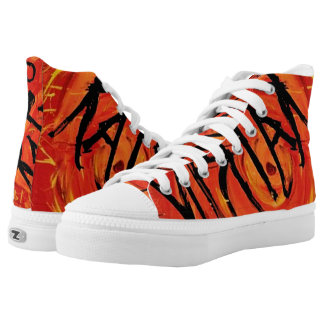 HURRICANE KATRINA HIGH TOPS